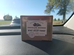 Mint Julep Fudge, $15
