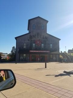 Exterior of Jim Beam